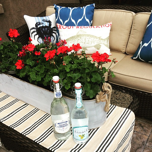 Patio Styling With 4th of July
