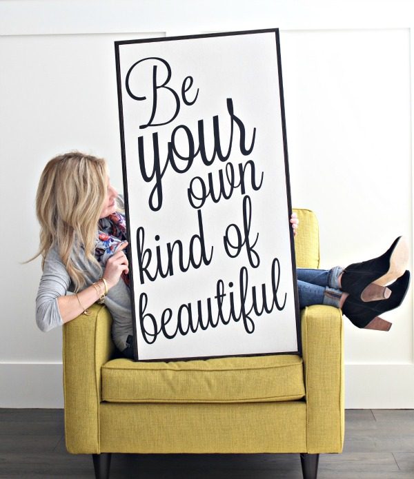 Be-your-own-kind-of beautiful-pep-talk
