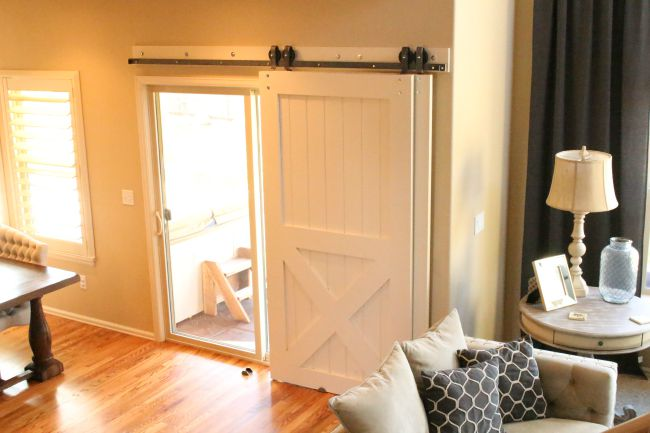 Barn Doors For Patio Slider on living room interior design ideas