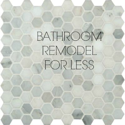 Bathroom Remodel For Less
