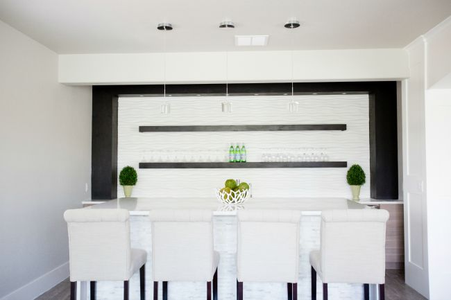 Modern Home Bar Oooh La La! - The House of Silver Lining