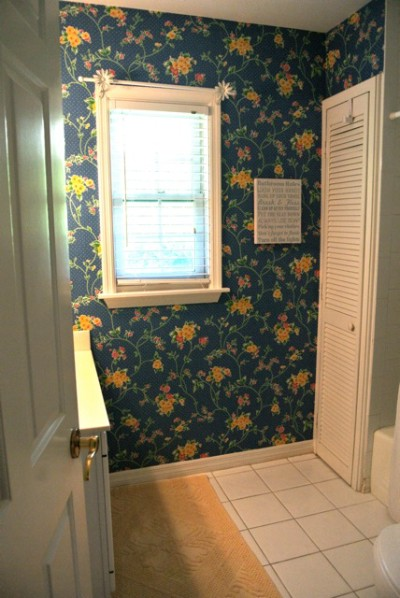The Cottage Bathrooms Before Renovation