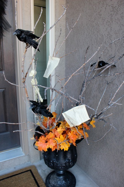 Fall Decorating Ideas With Tree Branches