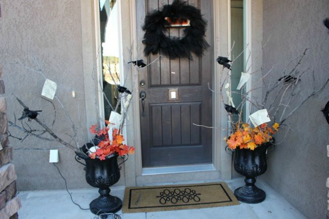 Fall Decorating Ideas With Tree Branches The House Of Silver Lining