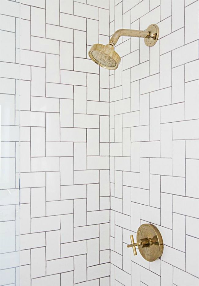 Vertical Subway Tile tile inspiration - the house of silver lining