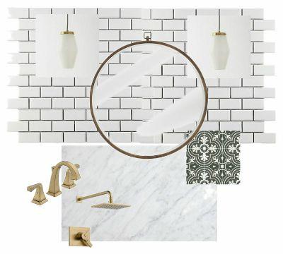 Transitional Modern Bathroom