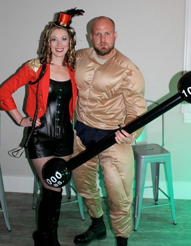 Circus ringleader Halloween costume