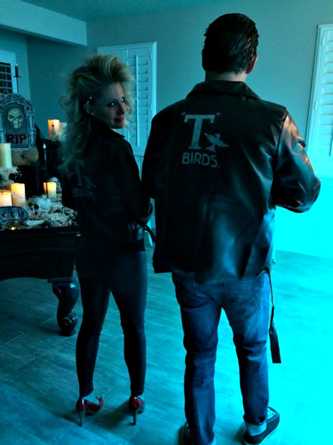 Grease Danny and Sandy Halloween Costume DIY