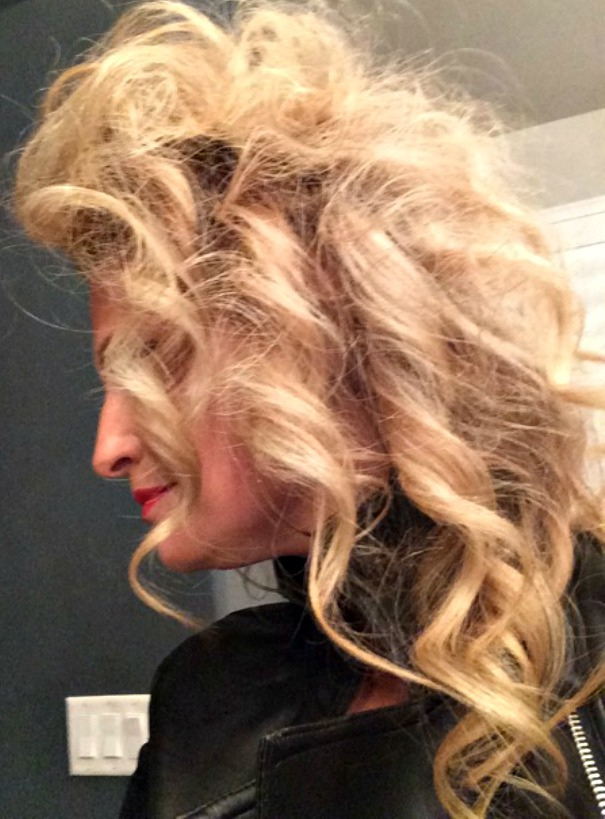 Sandy from Grease Hair