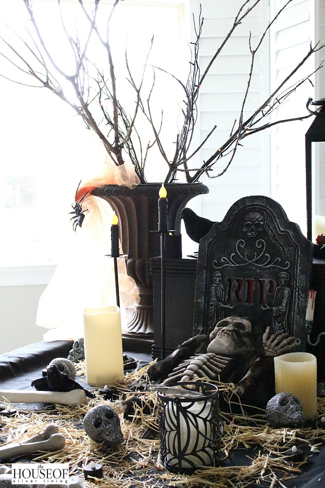 Halloween Decorating Spooky