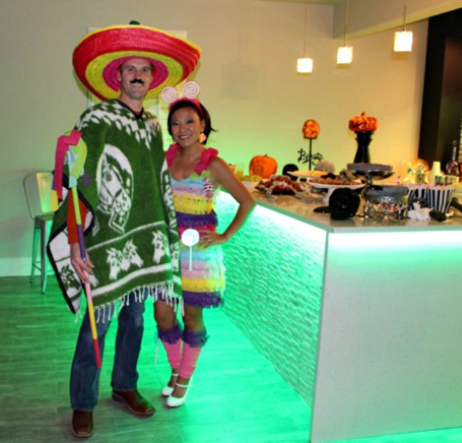Halloween Piñata Costume DIY