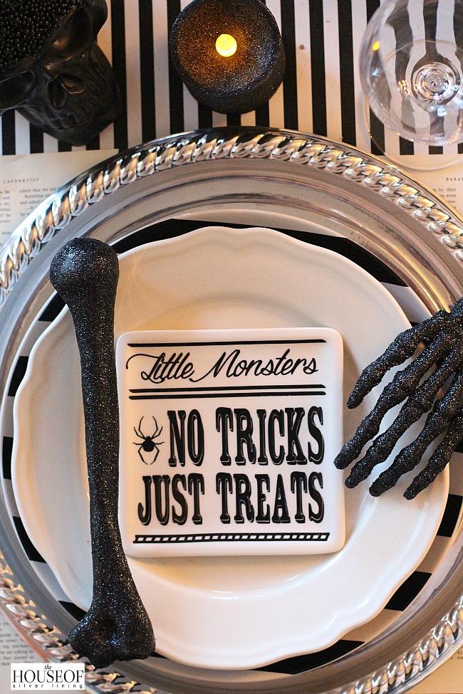 Halloween Table Scape Creepy