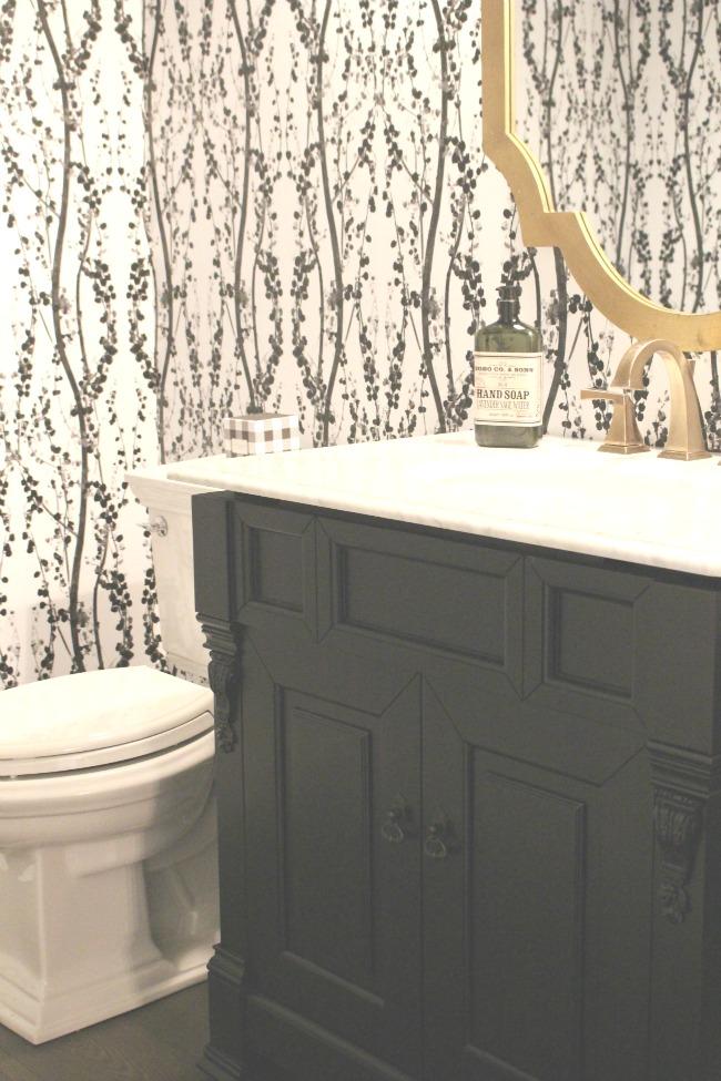 Tempaper Self Adhesive Wallpaper Bathroom Reveal The