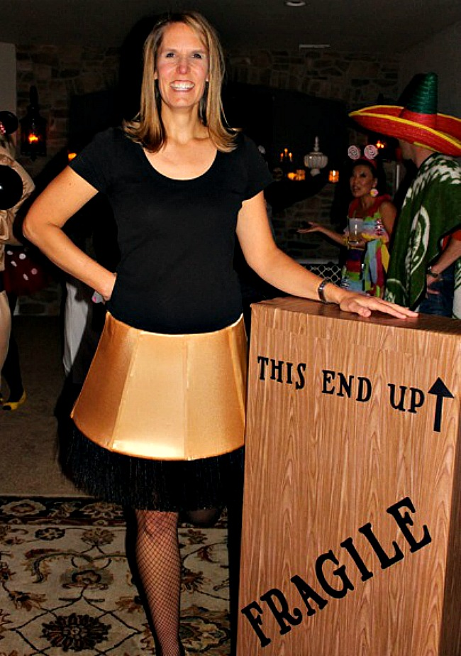 the christmas story lampshade halloween costume