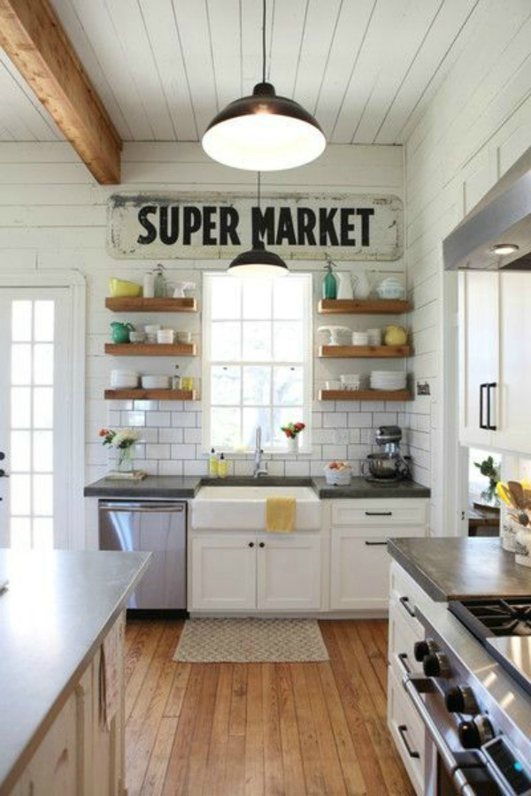 Ideas for small kitchen-beach cottage-2