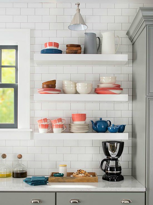 Ideas for small kitchen-beach cottage-4