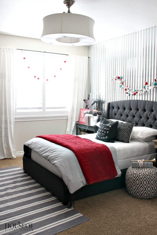 Industrial-boy-bedroom-corrugated-metal-Christmas