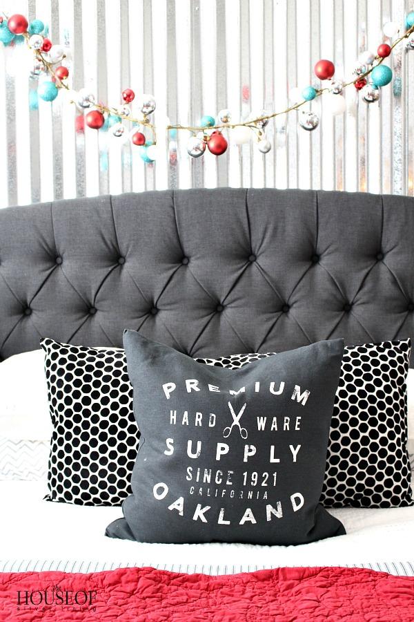 Industrial-wall-corrugated-sheet-metal-boy-bedroom-christmas