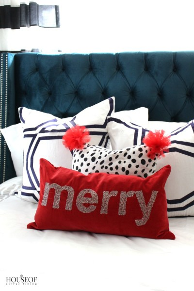 How To Make A Holiday Pillow
