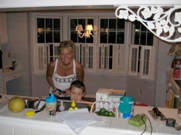 beach cottage renovation reveal kitchen