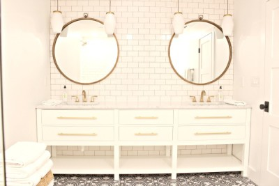 The Beach Cottage:  Our Master Bath Via Apartment Therapy