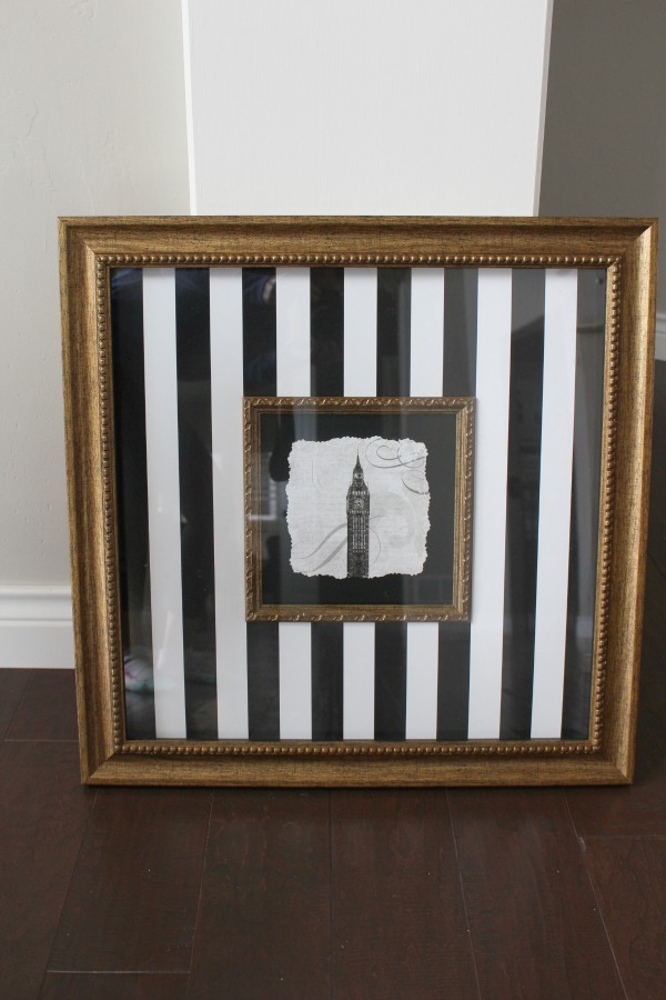 easy custom frame idea for family photos