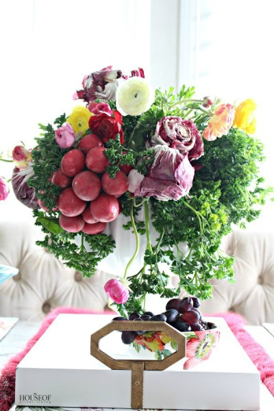 A Colorful Spring Centerpiece