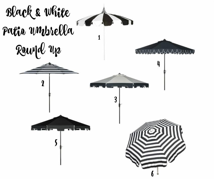 black-and-white-patio-umbrella-round-up