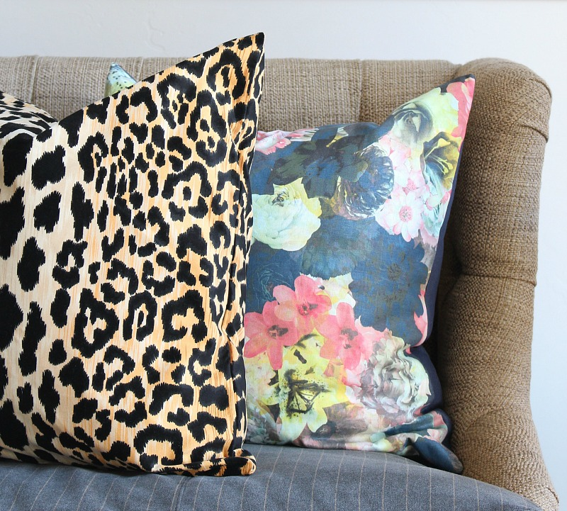 mixing-leopard-floral-pillows