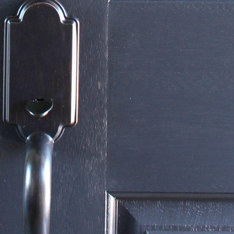 Weekend Project: Painting The Front Door