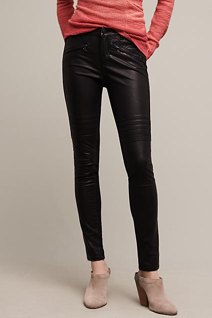 pilcro-jeans-black-leather
