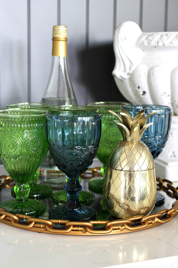 blue-green-beaded-wine-glass
