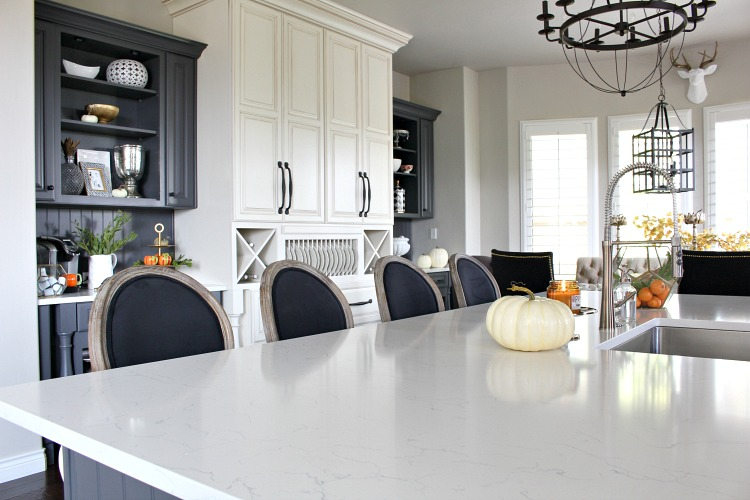 white-quartz-kitchen-with-grey-cabinets