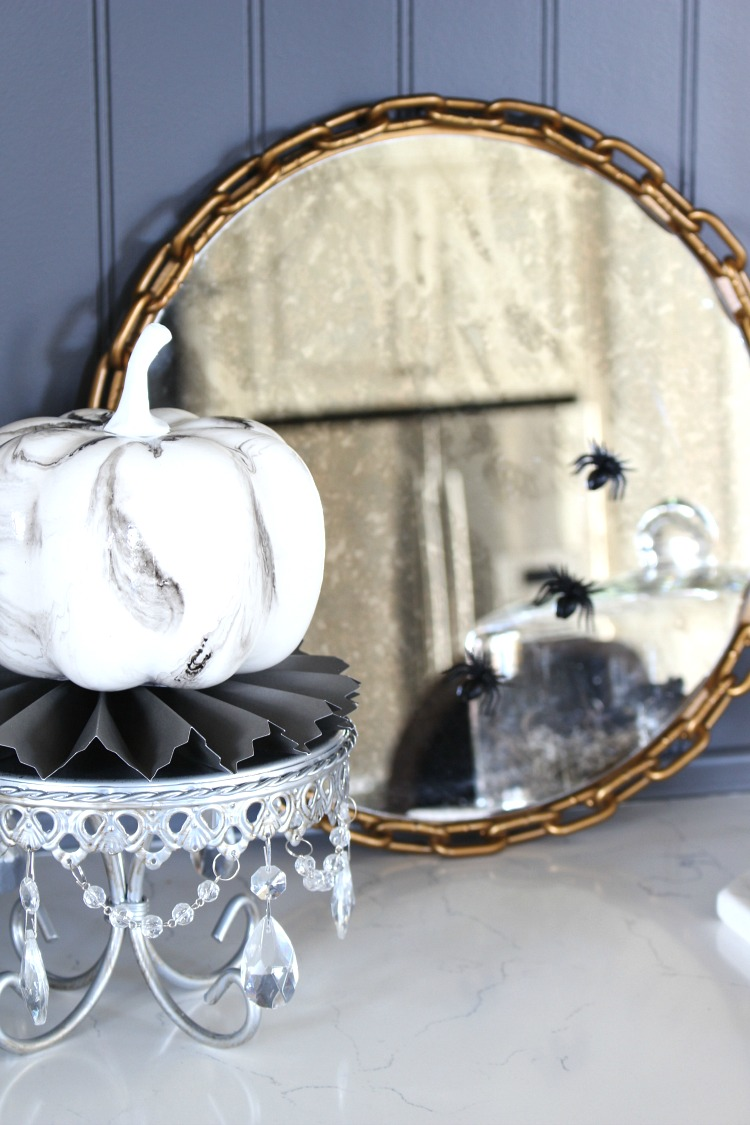 Elegant Spooky Halloween Home Tour The House Of Silver