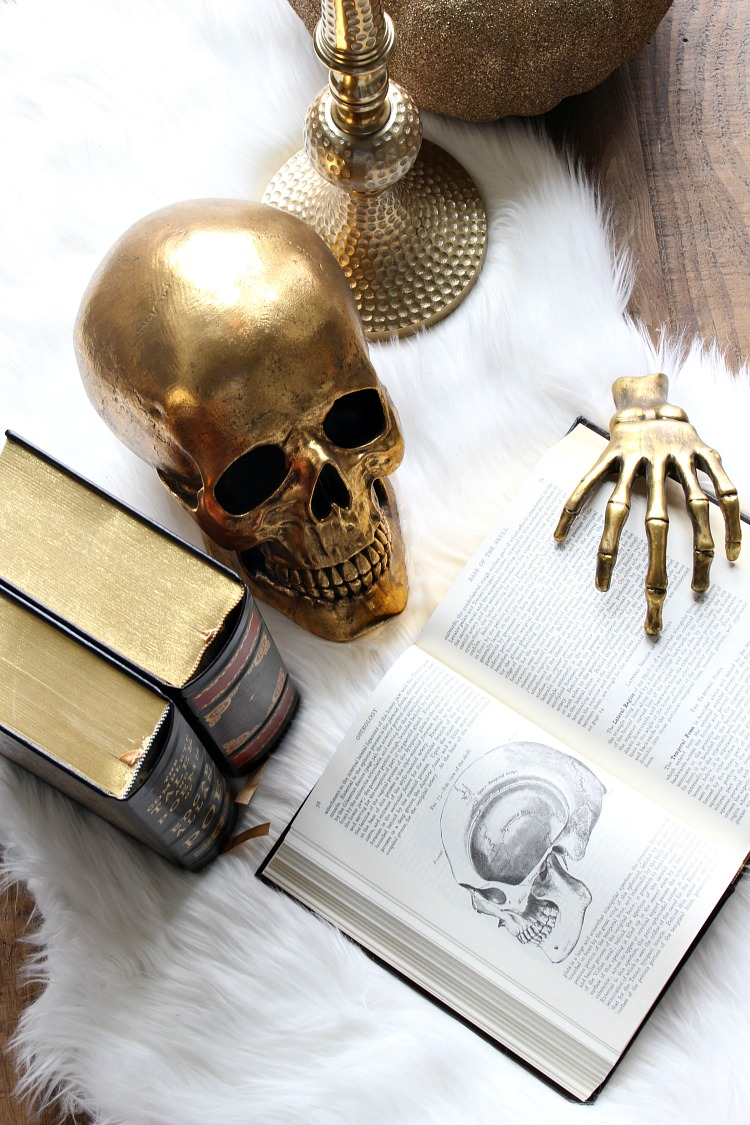 93 gold skull decor diy gilded skull vase crafts for Skull home decor