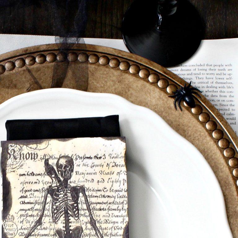 Elegantly Spooky Halloween Table