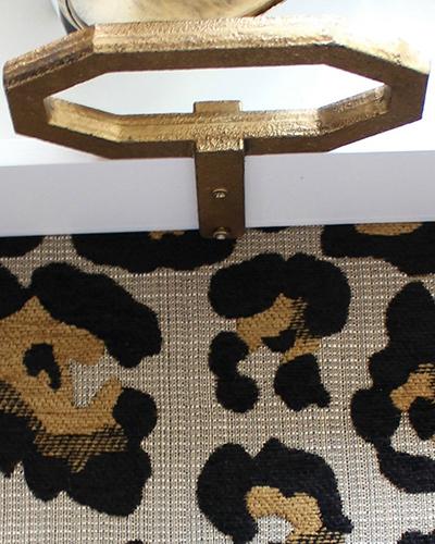 Leopard Ottoman DIY