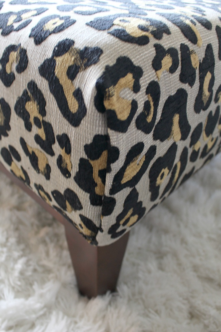 Surprising Leopard Ottoman Diy The House Of Silver Lining Ncnpc Chair Design For Home Ncnpcorg