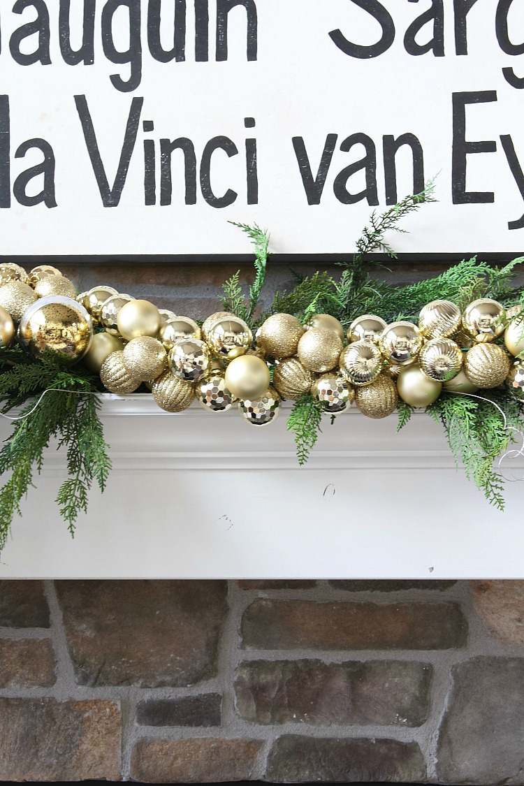 ornament-garland-on-fireplace-mantel
