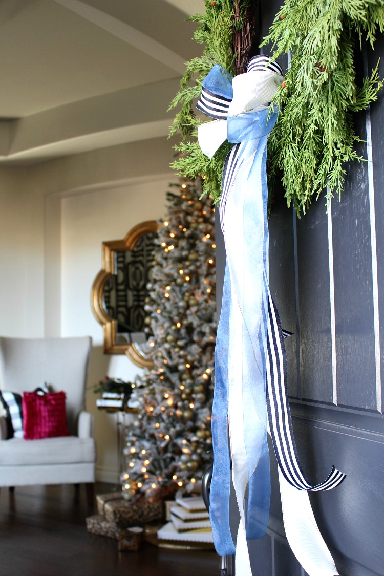 welcome home christmas front door u0026 entry the house of silver