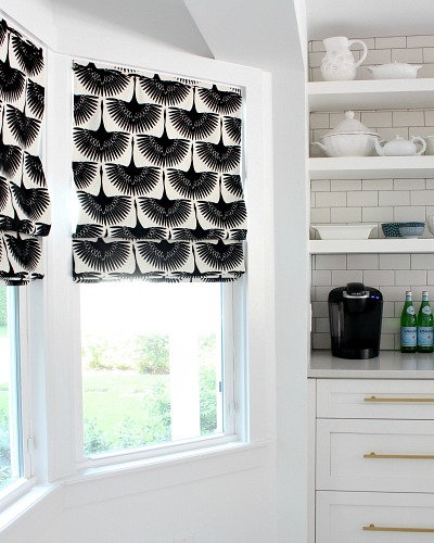 New Roman Blinds: Beach Cottage Kitchen