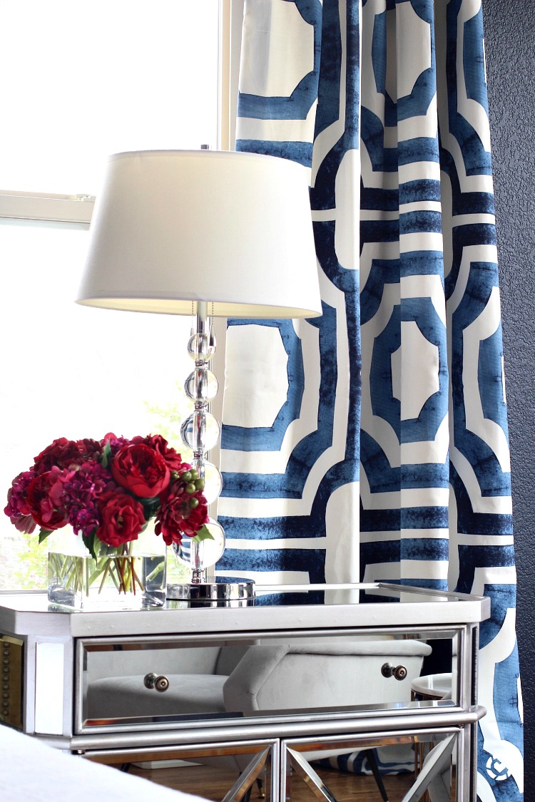 navy-geometric-curtain-panels-gorgeous-bedroom-hale-navy
