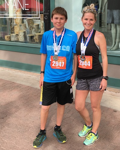 Running The Colorado Half Marathon: A Memorable Mom/Son Weekend