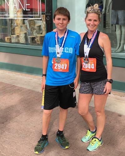 Running The Colorado Half Marathon: A Memorable Mom/Son Weekend