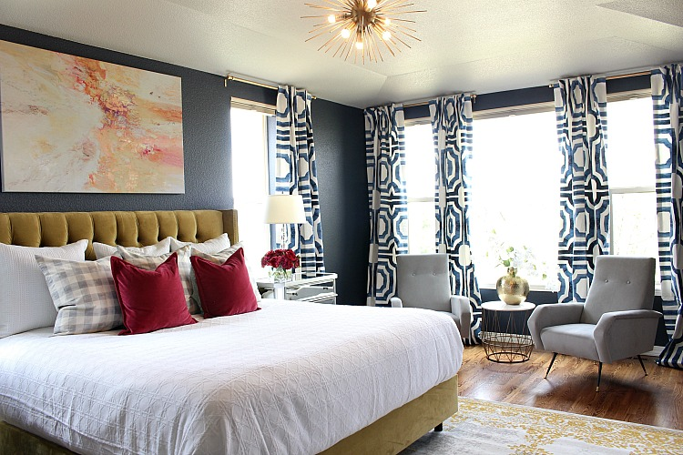 Bold, Beautiful, & Glamorous Master Bedroom - The House of ...