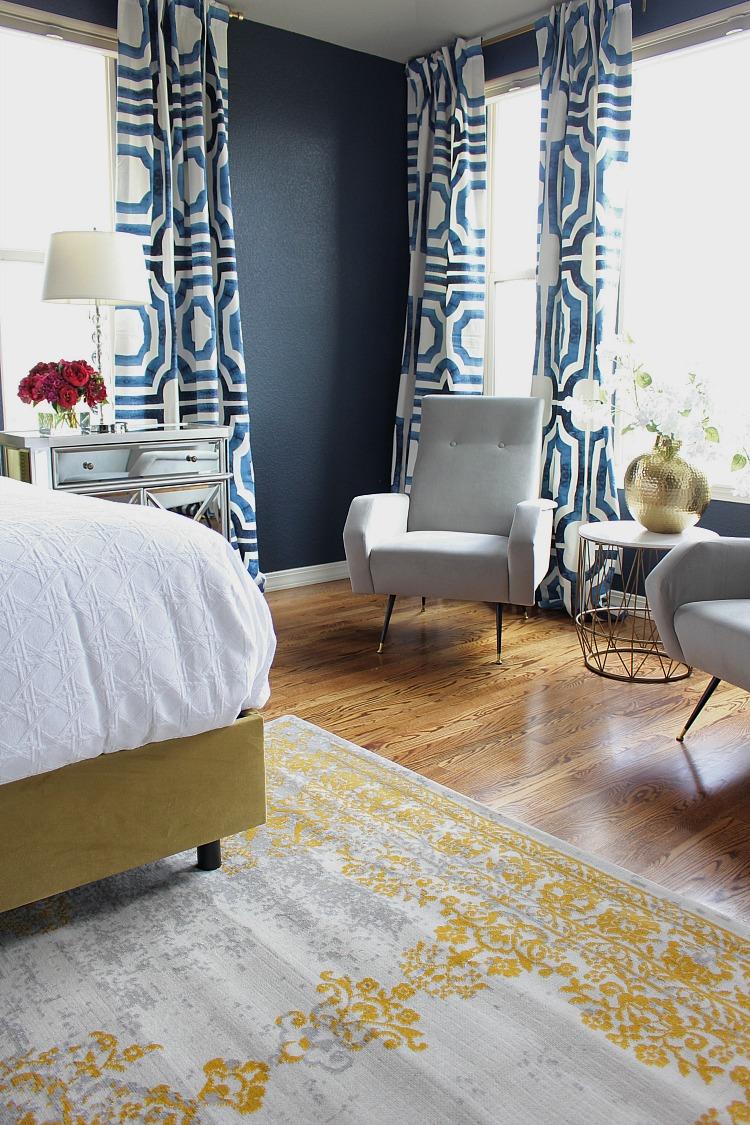 glamorous white gray master bedroom   Bold, Beautiful, & Glamorous Master Bedroom - The House of ...