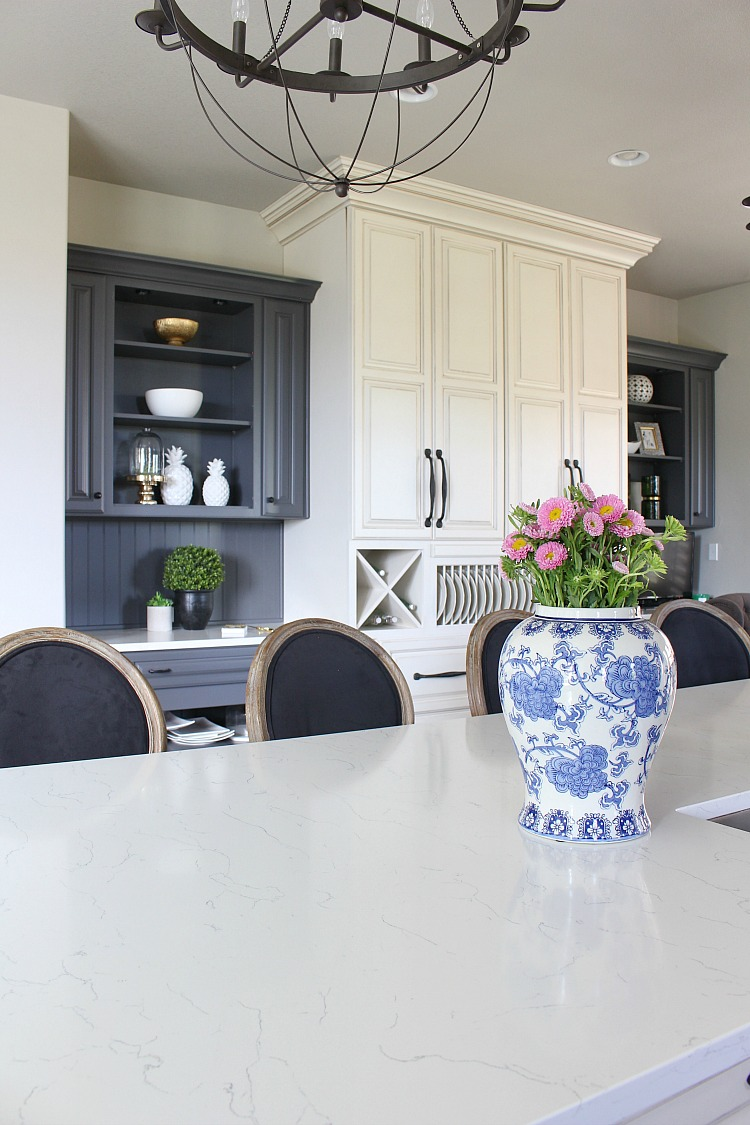 my favorite dark gray paint for kitchen cabinets the house of if i were to do my kitchen all over again i would absolutely go with this paint color i may even use it on some cabinets at the forest modern