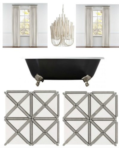 The Forest Modern: Master Bath Design and Marble Dilemma