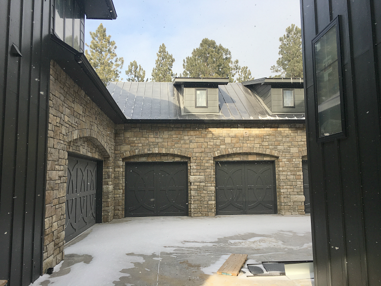 The Forest Modern Exterior Paint And Stone The House Of Silver Lining