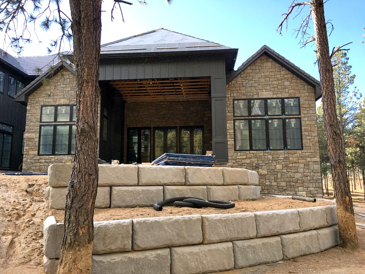 Awesome Stone For House Exterior Ideas Decoration Design